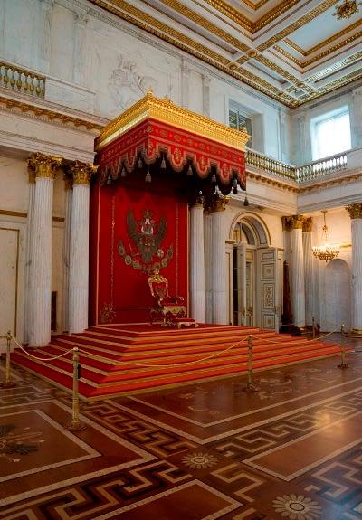 Георгиевский (Большой тронный) зал Эрмитажа