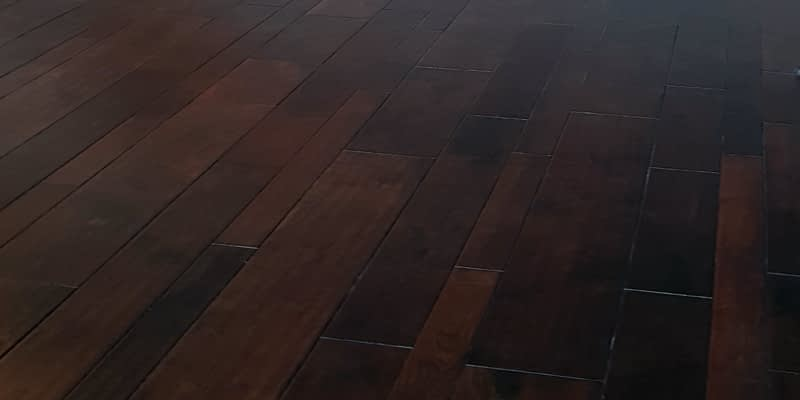Укладка массивной доски