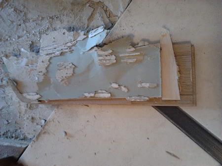 Укладка массивной доски на гипсокартон